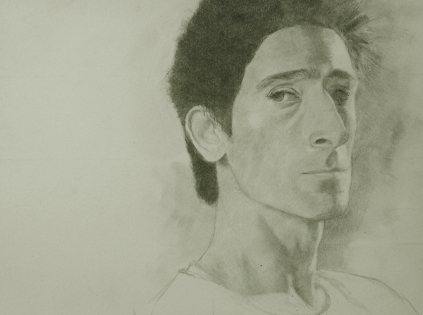 Adrien Brody by sketch1961